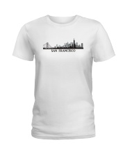 The San Francisco Skyline Ladies T-Shirt thumbnail