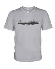 The San Francisco Skyline V-Neck T-Shirt thumbnail