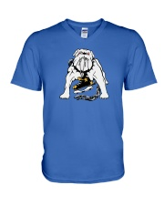Long Beach Ice Dogs V-Neck T-Shirt thumbnail
