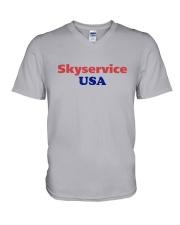 Skyservice USA V-Neck T-Shirt thumbnail