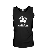 Kiss Me I'm a Admiral Unisex Tank tile