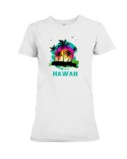 Hawaii Premium Fit Ladies Tee thumbnail