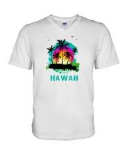 Hawaii V-Neck T-Shirt thumbnail