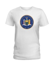 Great Seal of the State of New York Ladies T-Shirt thumbnail