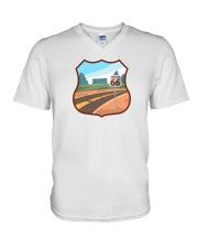 Route 66 V-Neck T-Shirt thumbnail