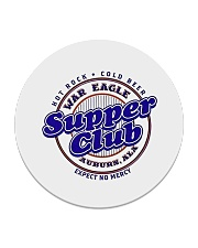 War Eagle Supper Club - Auburn Alabama Circle Coaster thumbnail