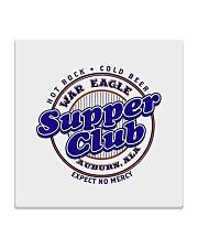 War Eagle Supper Club - Auburn Alabama Square Coaster thumbnail