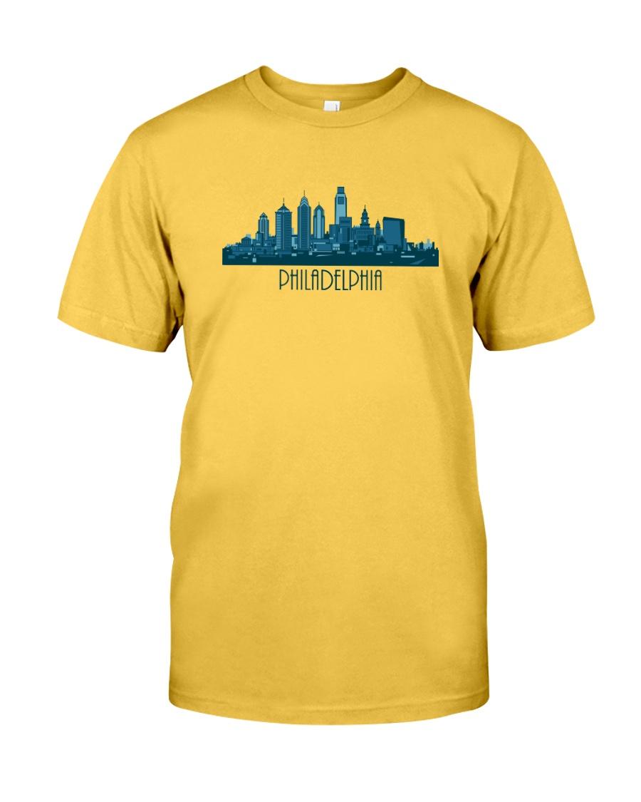 The Philadelphia Skyline Classic T-Shirt