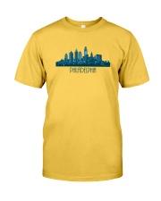 The Philadelphia Skyline Classic T-Shirt front