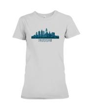 The Philadelphia Skyline Premium Fit Ladies Tee thumbnail