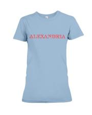 Alexandria - Virginia Premium Fit Ladies Tee thumbnail