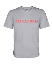 Alexandria - Virginia V-Neck T-Shirt thumbnail
