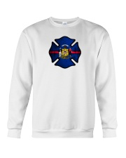 Wisconsin - Thin Red Line Crewneck Sweatshirt thumbnail