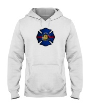 Wisconsin - Thin Red Line Hooded Sweatshirt thumbnail