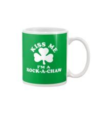 Kiss Me I'm a Rock-A-Chaw Mug thumbnail