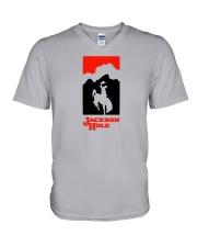 Jackson Hole - Wyoming V-Neck T-Shirt thumbnail