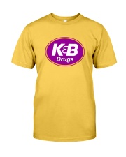 K and B Drugs Classic T-Shirt front