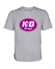 K and B Drugs V-Neck T-Shirt thumbnail