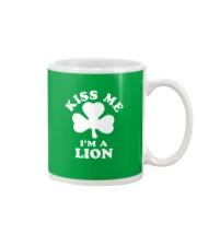 Kiss Me I'm a Lion Mug thumbnail