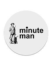 Minute Man Circle Coaster thumbnail