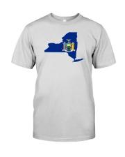 State Flag of New York Premium Fit Mens Tee thumbnail