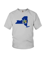 State Flag of New York Youth T-Shirt thumbnail