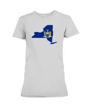 State Flag of New York Premium Fit Ladies Tee thumbnail