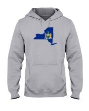 State Flag of New York Hooded Sweatshirt thumbnail