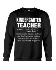 HOODIE KINDERGARTEN TEACHER Crewneck Sweatshirt thumbnail