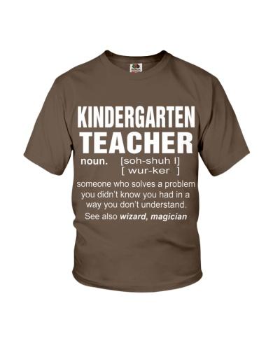 HOODIE KINDERGARTEN TEACHER