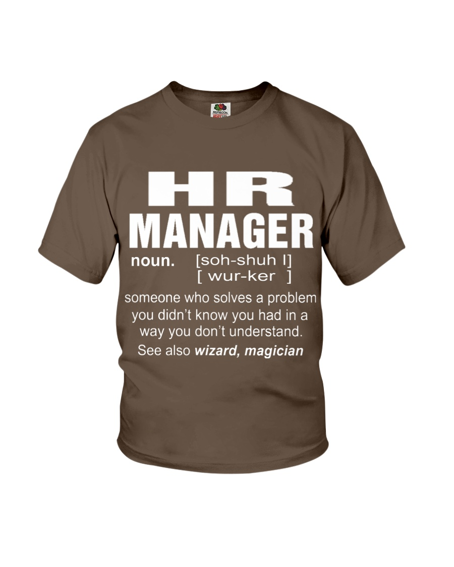 HOODIE HR MANAGER Youth T-Shirt