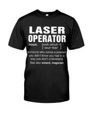 HOODIE LASER OPERATOR Classic T-Shirt thumbnail