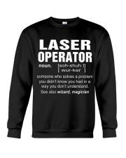 HOODIE LASER OPERATOR Crewneck Sweatshirt thumbnail