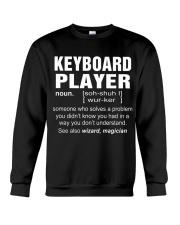 HOODIE KEYBOARD PLAYER Crewneck Sweatshirt thumbnail