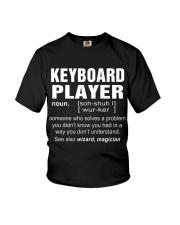 HOODIE KEYBOARD PLAYER Youth T-Shirt thumbnail