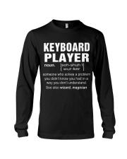 HOODIE KEYBOARD PLAYER Long Sleeve Tee thumbnail