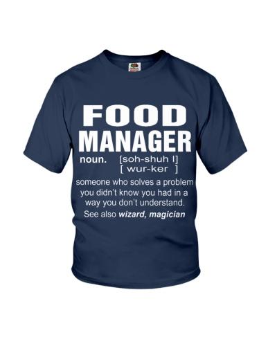 HOODIE FOOD MANAGER
