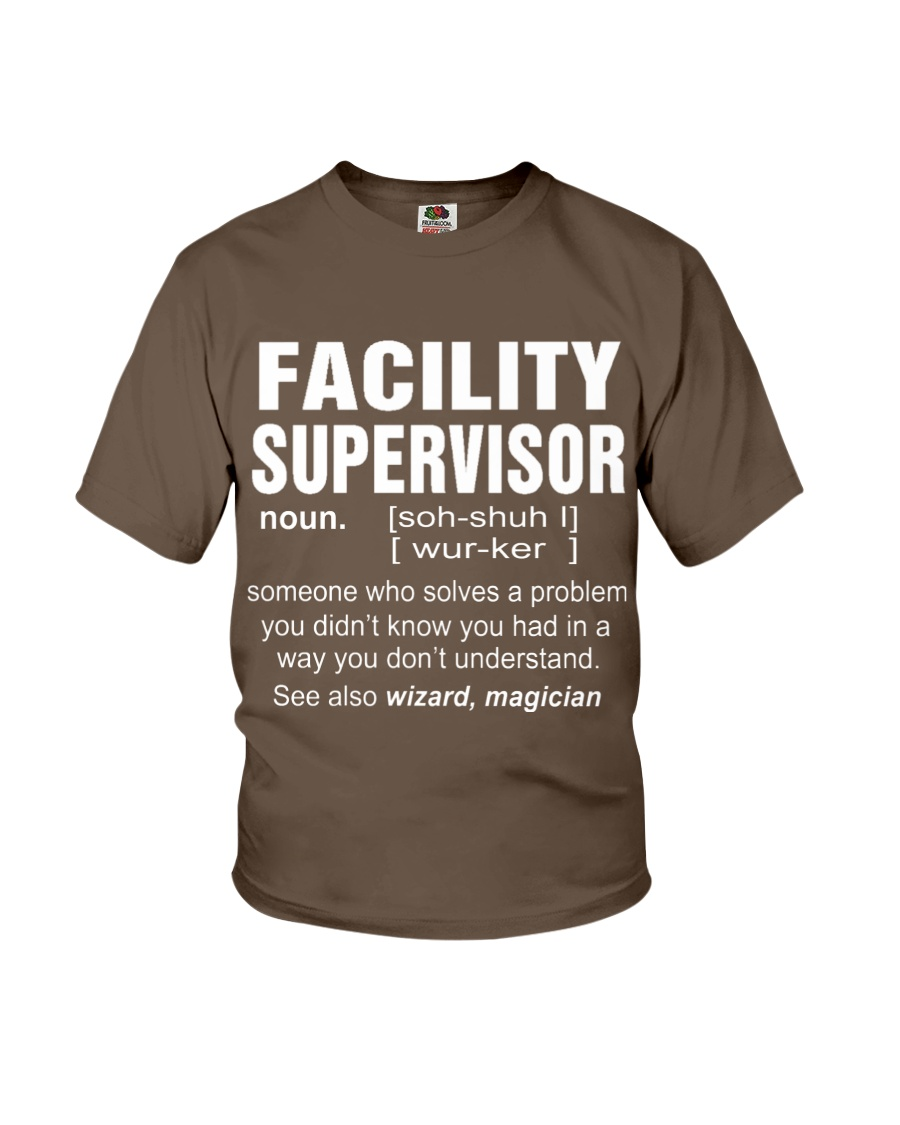 HOODIE FACILITY SUPERVISOR Youth T-Shirt