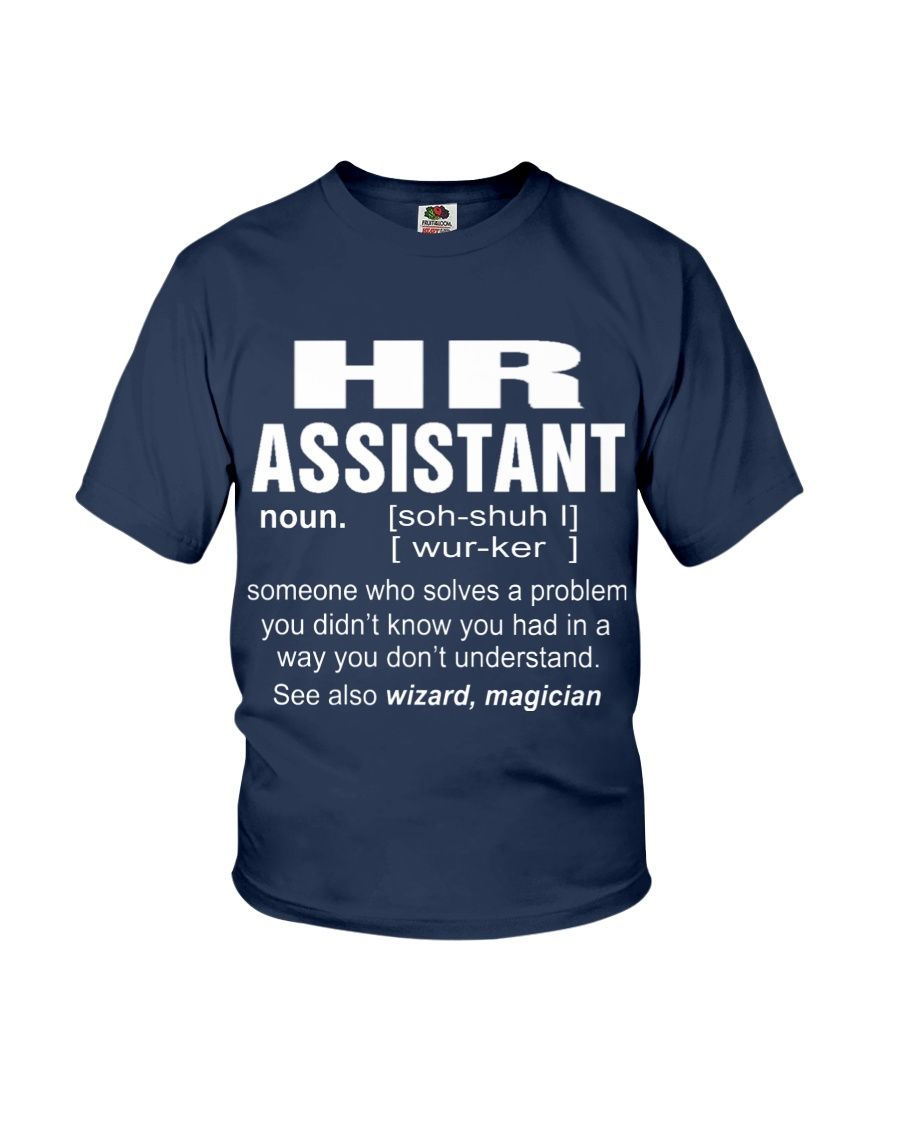 HOODIE HR ASSISTANT Youth T-Shirt