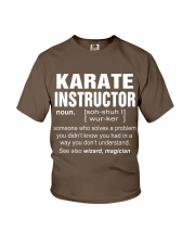HOODIE KARATE INSTRUCTOR Youth T-Shirt front