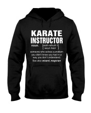 HOODIE KARATE INSTRUCTOR Hooded Sweatshirt thumbnail