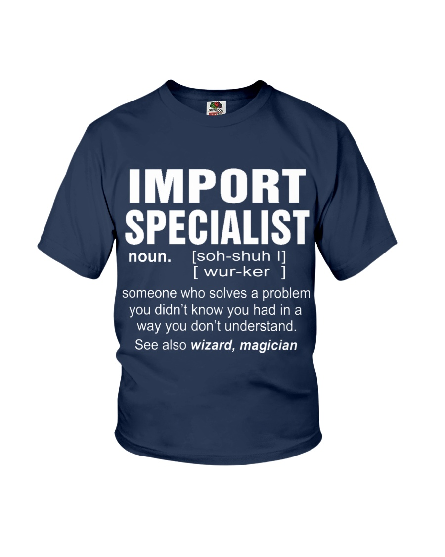 HOODIE IMPORT SPECIALIST Youth T-Shirt