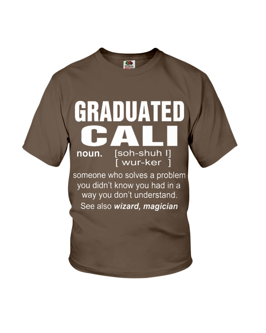 HOODIE GRADUATED CALI Youth T-Shirt
