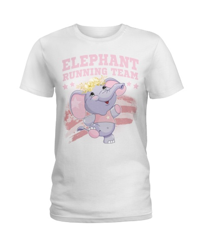 ELEPHANT RUNNING TEAM TSHIRT