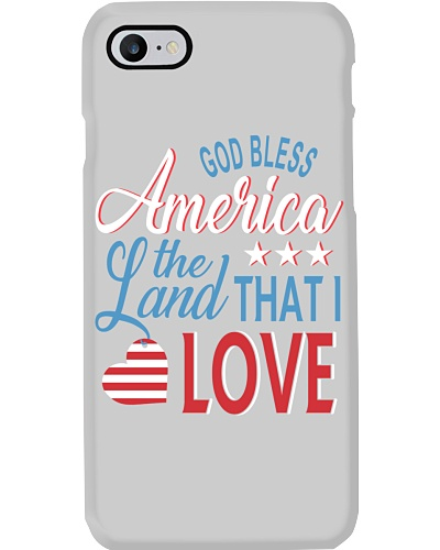 GOD BLESS AMERICA THE LAND THAT I LOVE TSHIRT