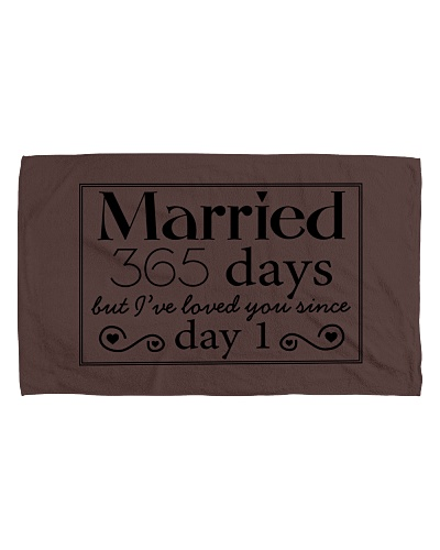 MARRIED 365 DAYS BUT I'VE LOVED YOU SINCE DAY 1