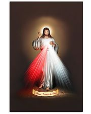 JESUS I TRUST IN YOU - DIVINE MERCY TSHIRT 11x17 Poster thumbnail