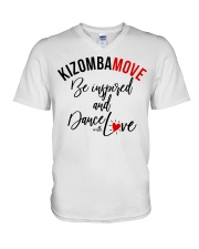 kizombamove V-Neck T-Shirt thumbnail