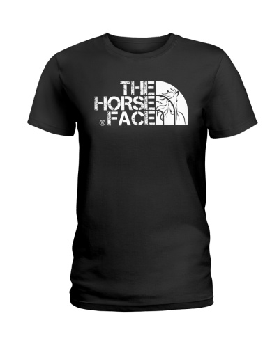 The horse face