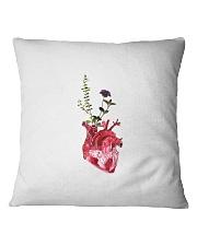Flower Heart Square Pillowcase thumbnail